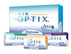 Alcon Air Optix contact lenses website link